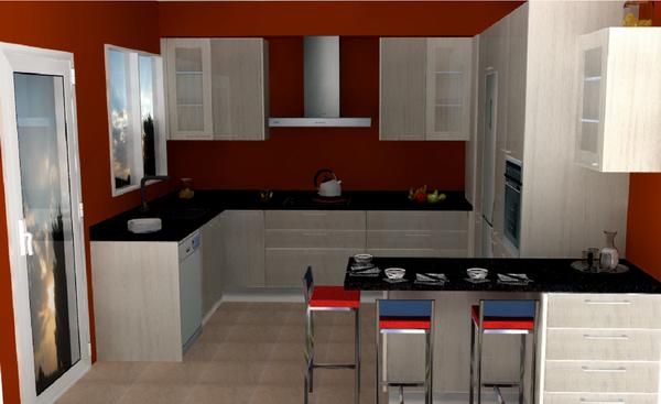 Galer a de cocinas montadas cocina estudio for Ver cocinas montadas
