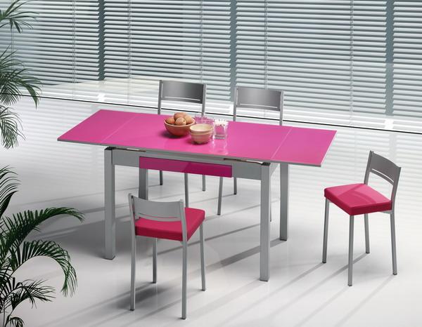 Mesas y sillas cocina estudio for Sillas de estudio zaragoza